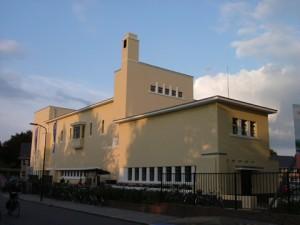 Het voormalige schakelstation van de Nuon